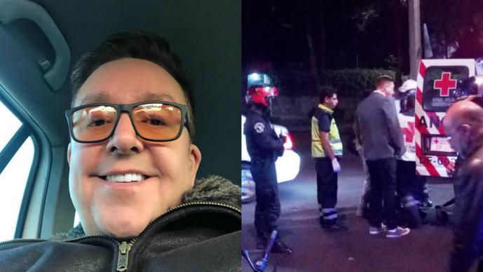 CDMX Daniel Bisogno atropella motociclsta
