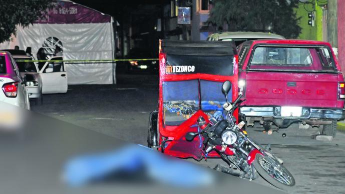 Ejecutan mototaxi Disparo al rostro CDMX Iztapalapa