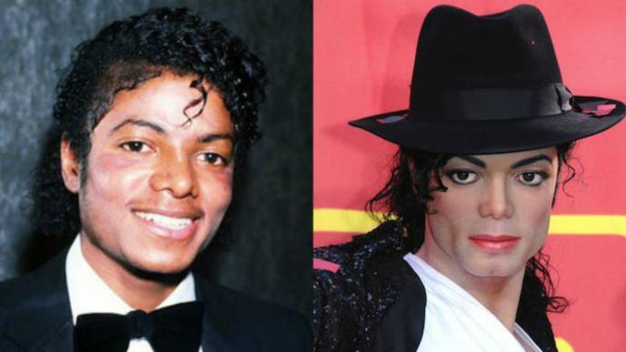 Michael Jackson Antes y después Famosos irreconocibles