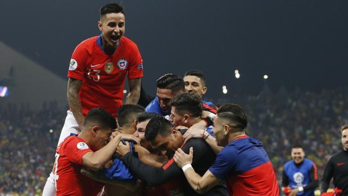 Chile avanza a semifinales de la Copa América