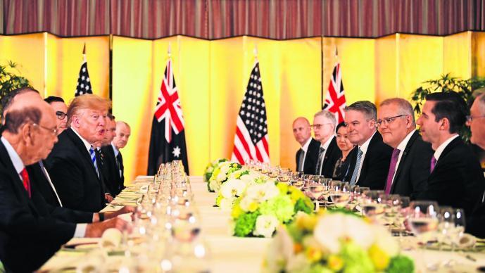 Donald Trump amedrentó varios líderes mundiales