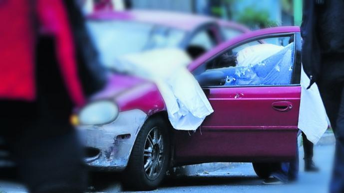 automovilista baleado asesinan ejecutan balazos hombre automóvil tlalpan