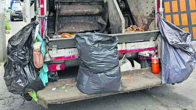 Hallan cadáver Bebé muerto Bolsa de basura CDMX Tlalpan