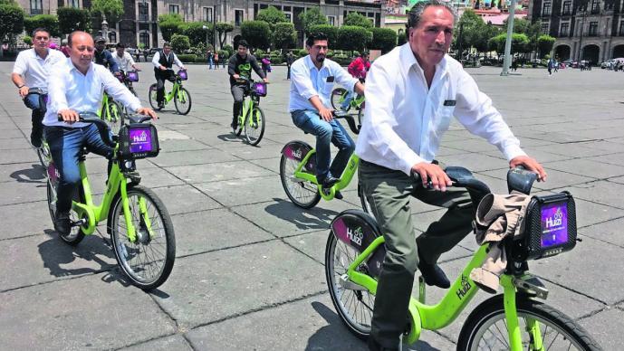 taxistas bicicleta capacitación respeto espacios movilidad ciclistas toluca
