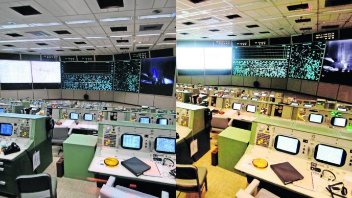 Restauran sala de control Nasa