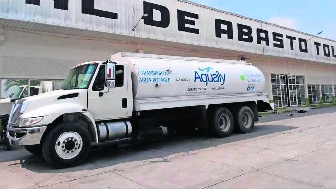 falla pozo sin agua pobladores Toluca