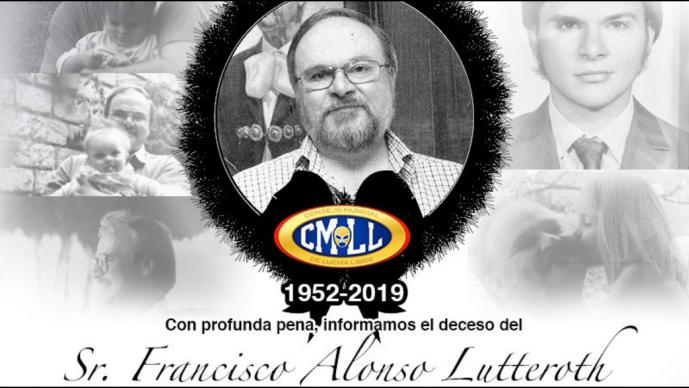 CMLL anuncia fallecimiento de su presidente