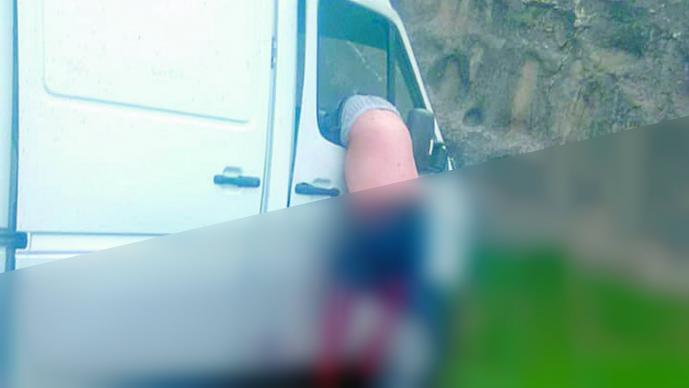 Accidente vehicular Conductor pierde el control Edomex Tlalnepantla