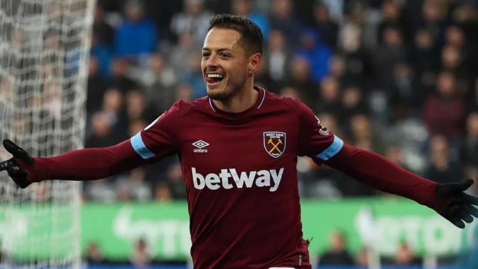 Javier Hernández jugará con nuevo número con el West Ham