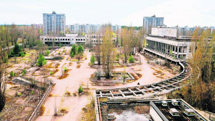 Accidente nuclear Ucrania Chernobyl Atracción turística