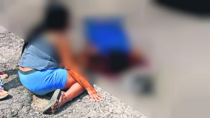 Ejecutan a vendedor de autos Morelos Afuera de casa Acribillan a hombre