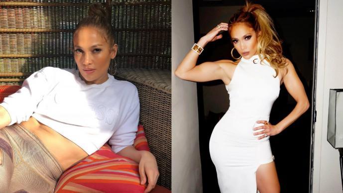 Jennifer Lopez impacta en redes sociales con estrecha prenda