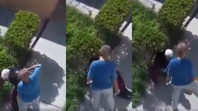 Indigna video de La Cuerva de Tláhuac golpeando a mujer de la tercera edad