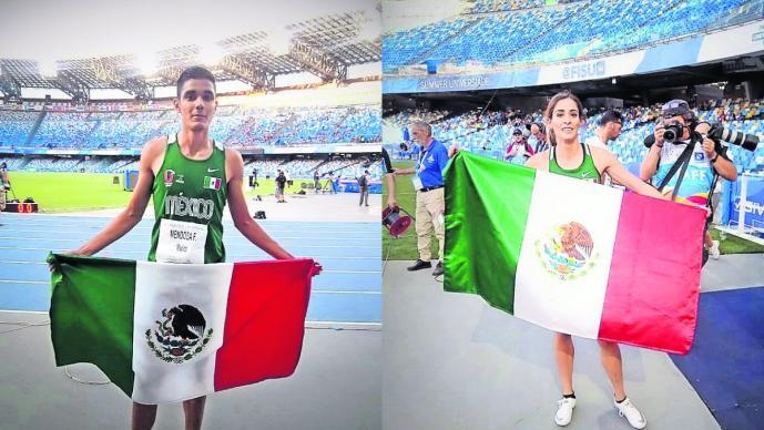 Mexicanos ganadores Universiada Mundial 2019 Paola Morán Valente Mendoza