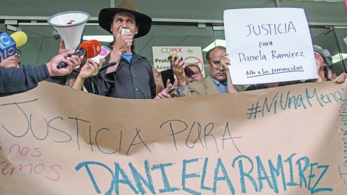 Familiares amigos Daniela N exigen justicia