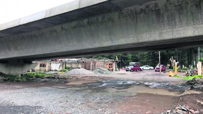 Denuncian daños gasoductos construcción