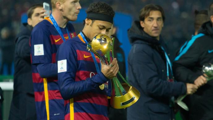 El guiño de Neymar al Barcelona