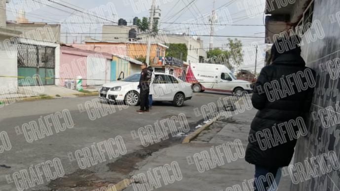 muerto asesinato automovilista hombre acribillan balazos nueva aragón ecatepec