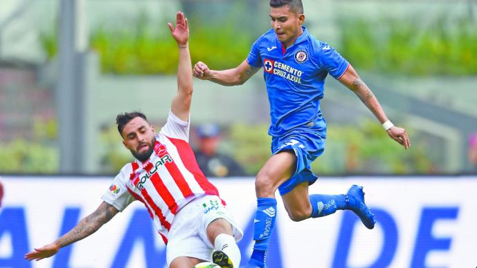 necaxa cruz azul partido final supercopa copa mx campeón copa futbol mexicano