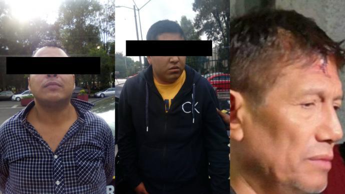 Detienen a dos presuntos implicados por robo a casa de Juan Osorio