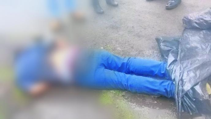 verdugos ejecutan hombre joven intentó huir le dan alcance lo matan balazos san mateo atenco