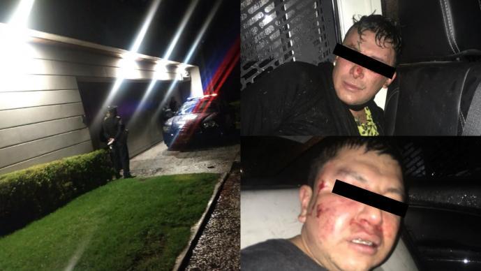 Detienen a dos extranjeros por robar una casa en CDMX presumen que era de Angélica Rivera