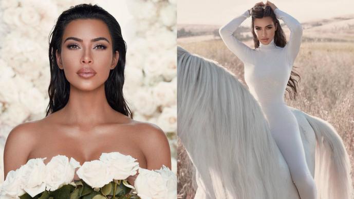 Kim Kardashian desborda todo y casi enseña intimidad fans aseguran que no es Photoshop