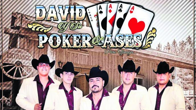 David y su Póker de Áses la agrupación elegante del género grupero