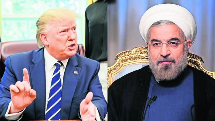 Donald Trump afirma que abatió dron pero Irán lo desmiente
