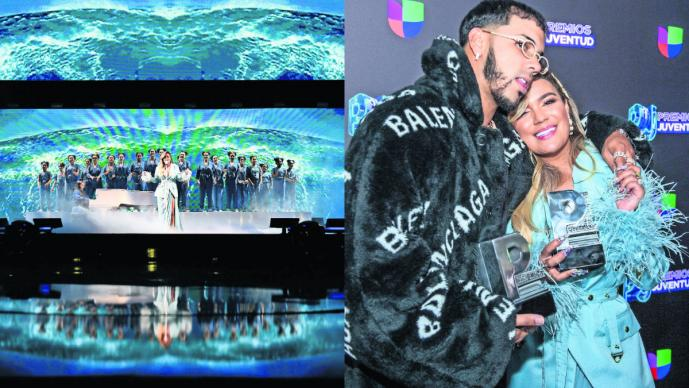 Se impone el género urbano en los Premios Juventud Bad Bunny Anuel AA y Cardi B la rompen