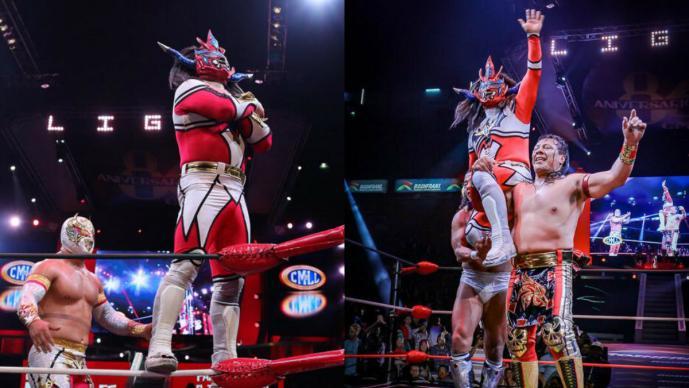 El luchador Liger se despidió con honor de la Arena México