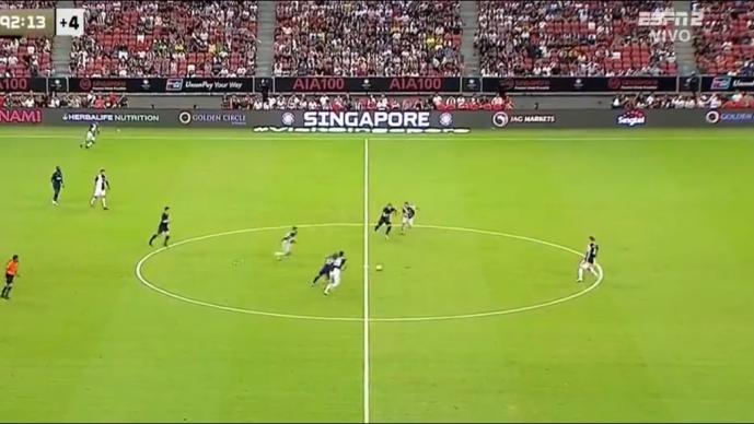 Kane anota impresionante gol en el Tottenham vs Juventus