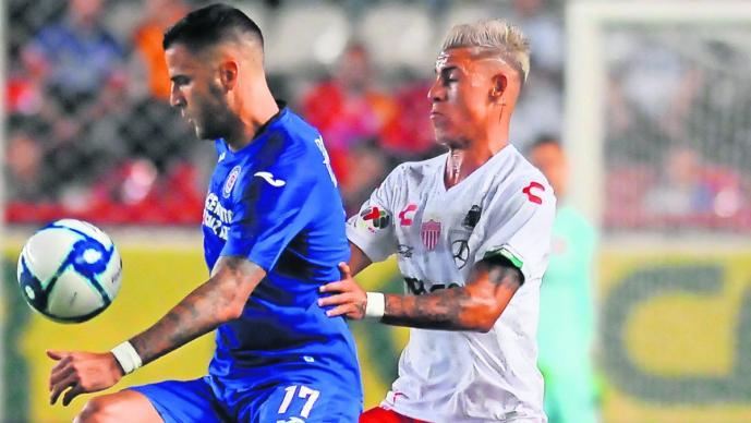necaxa cruz azul partido empate marcador ceros apertura 2019 futbol mexicano