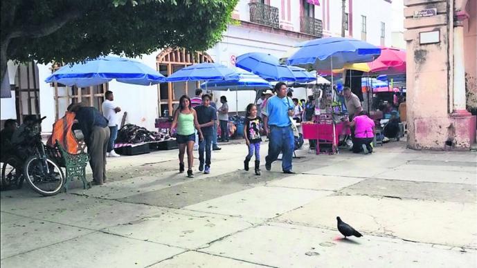 ambulantes monumentos Morelos