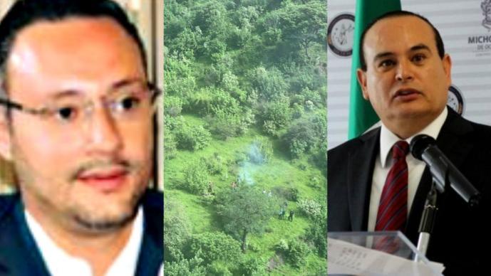 accidente helicoptero michoacán german ortega jose martin godoy castro