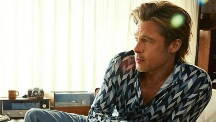 Brad Pitt Hollywood Once Upon a Time in Hollywood actor productor