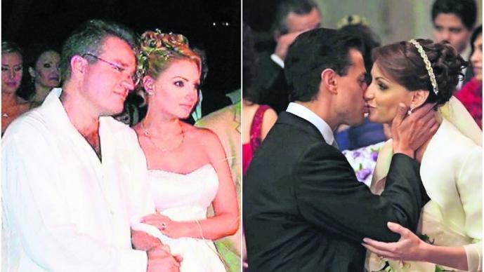 boda angélica rivera primera dama esposa enrique peña nieto el guero castro rompe el silencio matrimonio no fue anulado