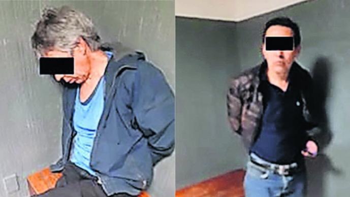 Fingen secuestradores taxistas pelea Cuauhtémoc raptan