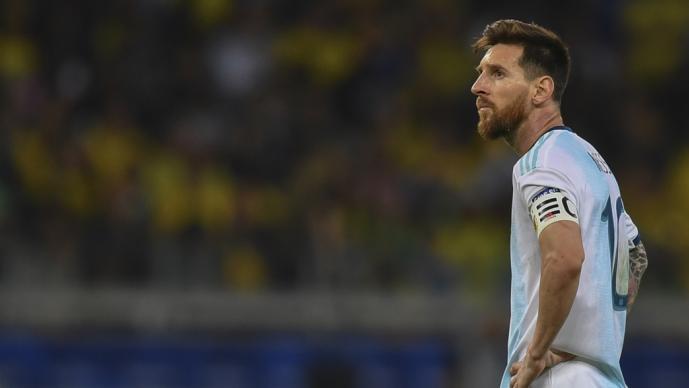 Lionel Messi es suspendido por la Conmebol