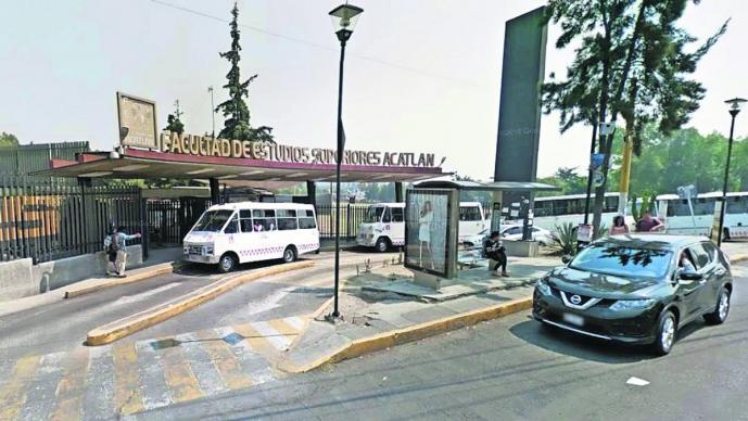 ladrones asaltan alumnos fes acatlán primer día de clases reportan atraco transporte público transporte seguro naucalpan