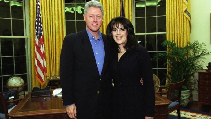 monica lewinsky escándalo sexual bill clinton serie televisión productora versión hechos becaria casa blanca