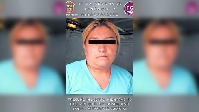 mujer detenida asesina compadre chimalhuacan edomex