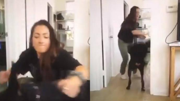 Youtuber causa indignación tras video compartido por error en el que golpea a su perro