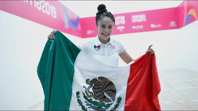 Paola Longoria, la mexicana más ganadora en panamericanos