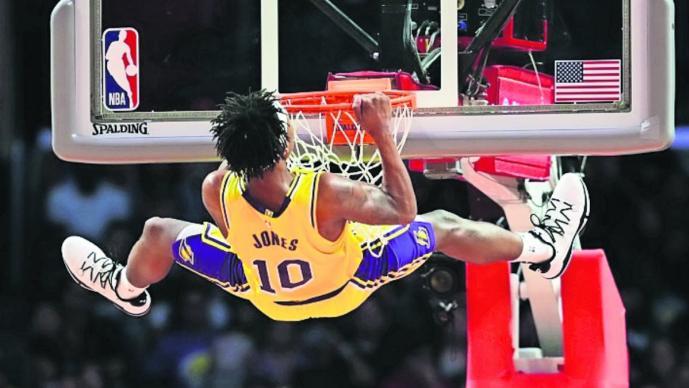 calendario temporada basquetbol NBA lakers
