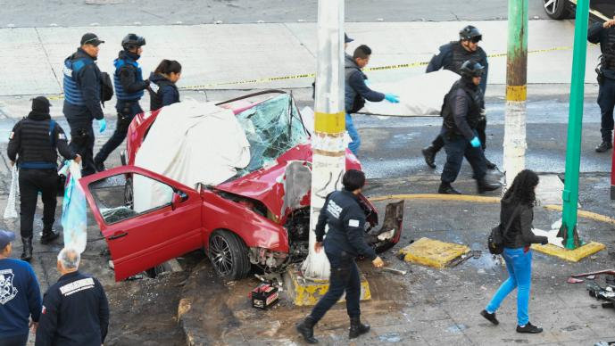 choque nezahualcoyotl muertos heridos estado de mexico