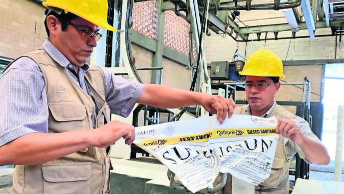 Quitan sellos de suspensión a rastro de Cuernavaca tras verificación sanitaria