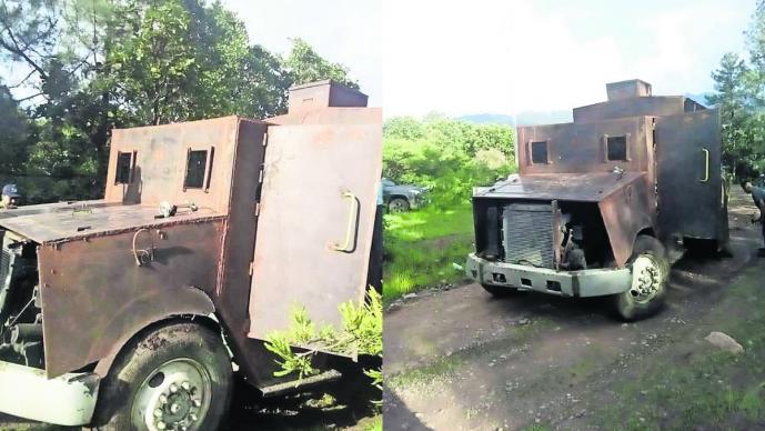 El Monstruo el camión impenetrable construido para El Carrete