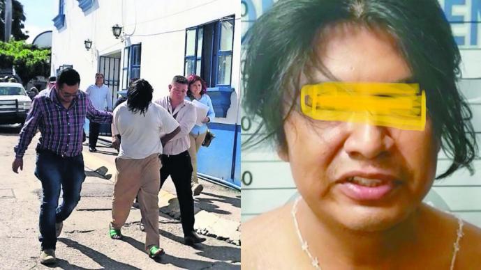 Violador de niña Leidy Magaly