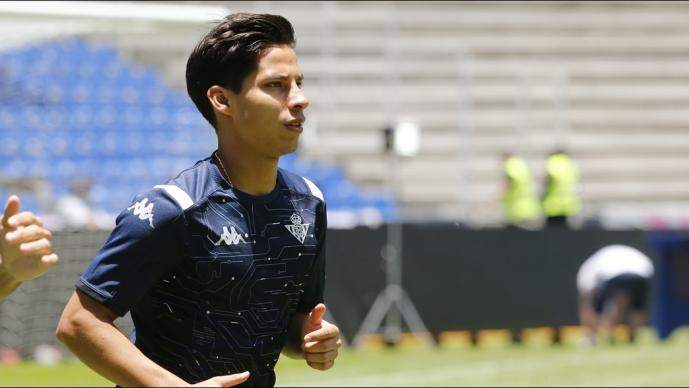 Diego Lainez aparece entre los talentos de LaLiga